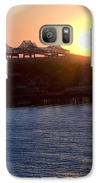 Galaxy Case featuring the photograph English Turn Sunset In New Orleans by Ray Devlin