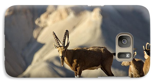 Galaxy Case featuring the photograph Enjoing The Desert Morning 02 by Arik Baltinester