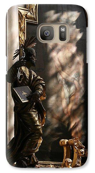 Galaxy Case featuring the sculpture Enlightend by Steve Godleski