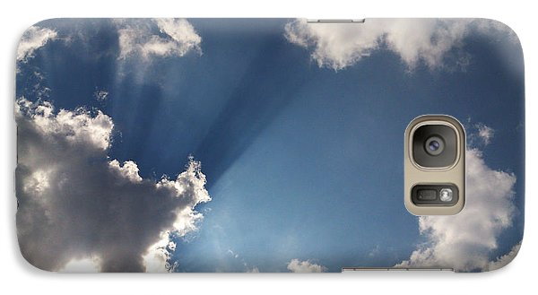 Galaxy Case featuring the photograph Enlightenment  by Lucy D
