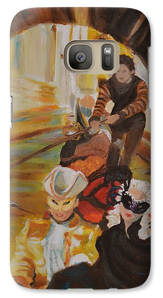 Galaxy Case featuring the painting Ennui In Venice by Julie Todd-Cundiff