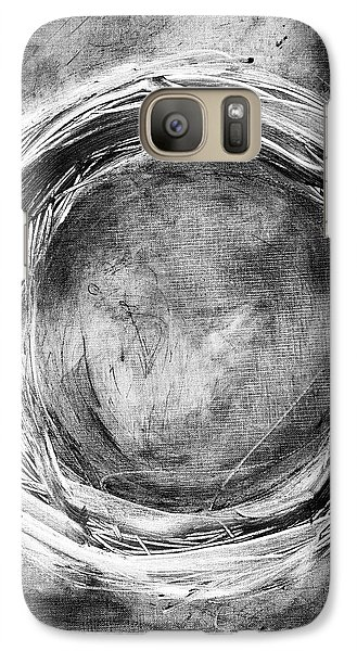 Galaxy Case featuring the painting Enso by Katie Black