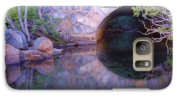 Galaxy Case featuring the photograph Enter The Tunnel Of Love  by Sean Sarsfield