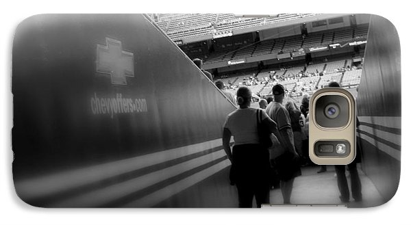 Galaxy Case featuring the photograph Entering The Cathedral Of Baseball B/w Soft Focus by Aurelio Zucco