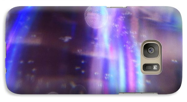 Galaxy Case featuring the photograph Enterprise Approaching by Martin Howard