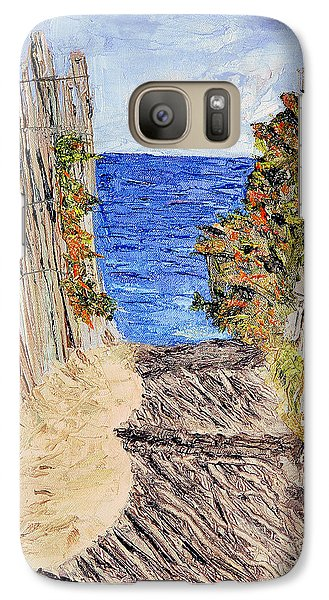 Galaxy Case featuring the painting Entrance To Summer by Michael Daniels