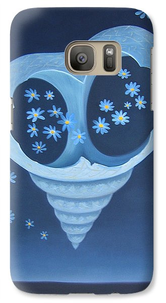 Galaxy Case featuring the painting Entreaty by Tone Aanderaa