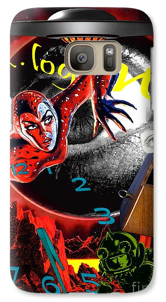 Galaxy Case featuring the digital art Entropy At The End Of Time by Sasha Keen