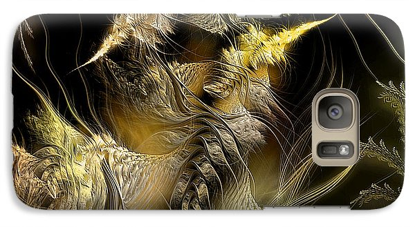 Galaxy Case featuring the digital art Environmental Transitions 5 by Casey Kotas