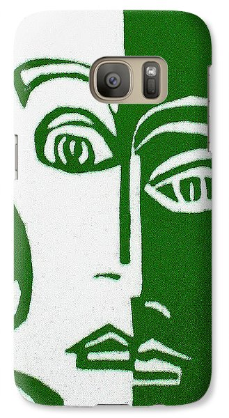 Galaxy Case featuring the painting Envy by Donna Tucker