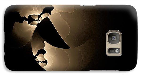 Galaxy Case featuring the digital art Envy by GJ Blackman