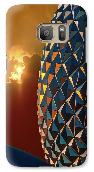 Galaxy Case featuring the photograph Epcot by Kellice Swaggerty
