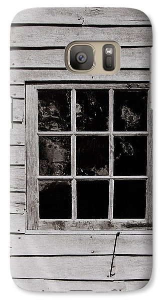 Galaxy Case featuring the photograph Ephrata Cloisters Window by Jacqueline M Lewis