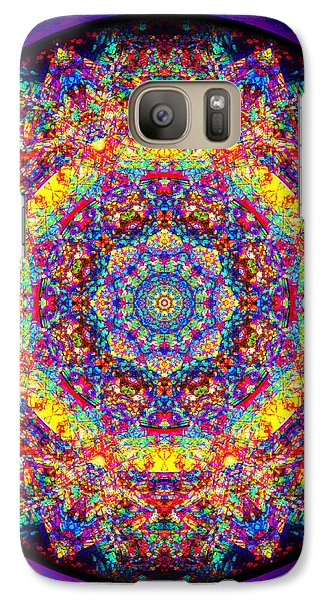 Galaxy Case featuring the painting Equanimity by Jalai Lama