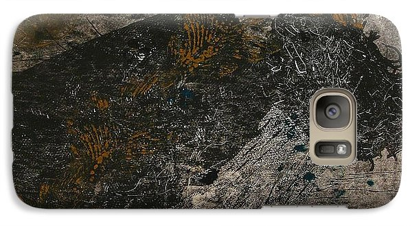 Galaxy Case featuring the painting Equestrian by Lesley Fletcher