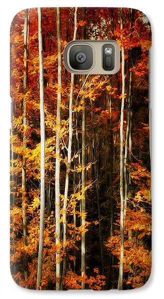 Galaxy Case featuring the photograph Equilibre by Philippe Sainte-Laudy