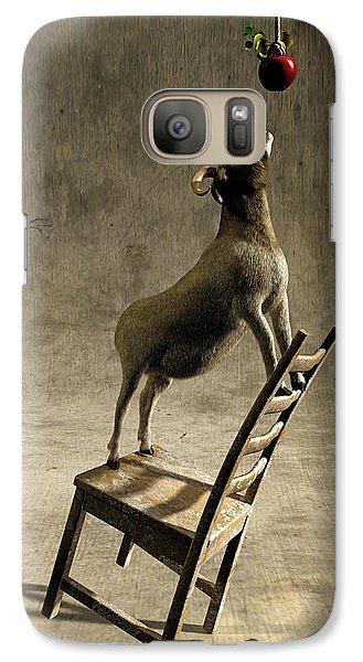 Goat Galaxy S7 Case - Equilibrium by Cynthia Decker