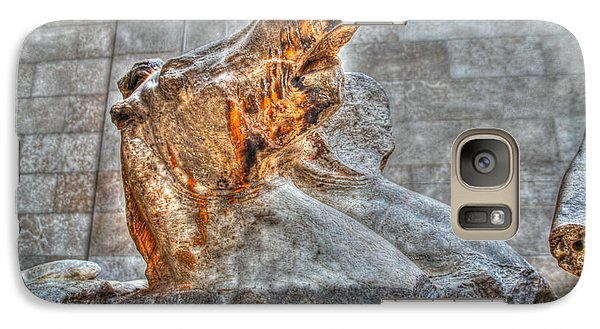 Galaxy Case featuring the photograph Equus by Ross Henton