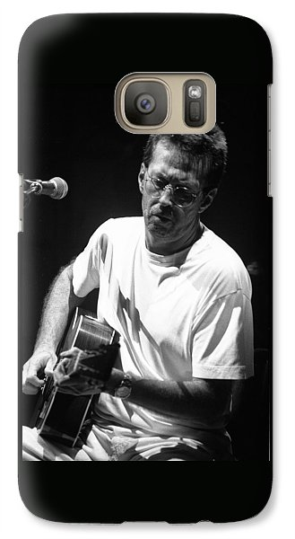 Eric Clapton Galaxy S7 Case - Eric Clapton 003 by Timothy Bischoff
