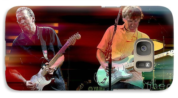 Eric Clapton And Steve Winwood Galaxy Case by Marvin Blaine