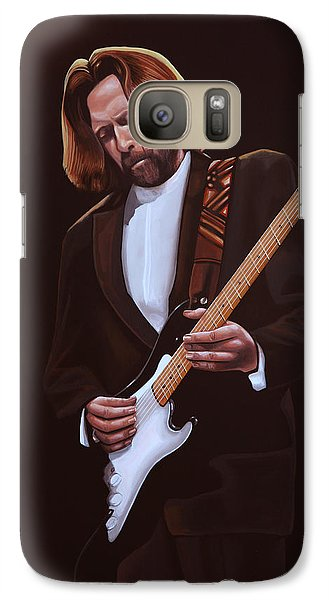 Eric Clapton Painting Galaxy S7 Case