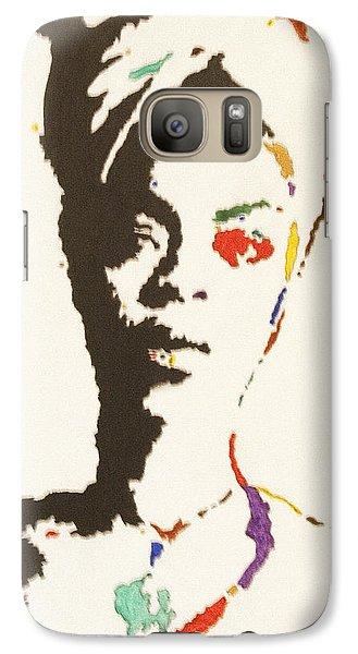 Galaxy Case featuring the painting Erykah Badu by Stormm Bradshaw