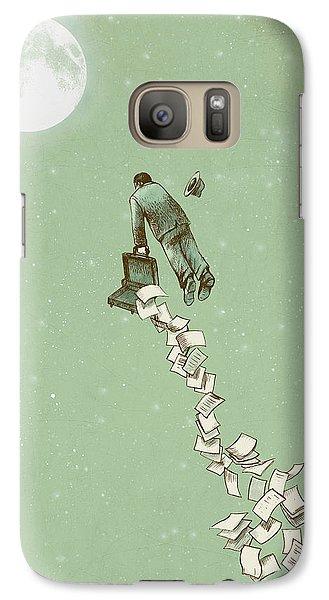 Fantasy Galaxy S7 Case - Escape by Eric Fan