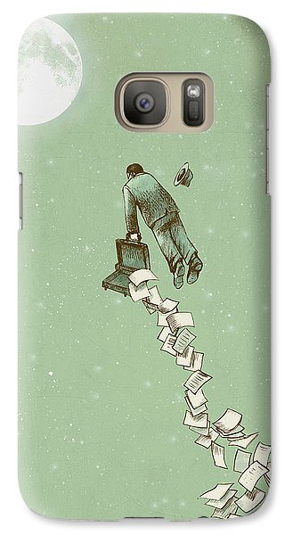 Fantasy Galaxy S7 Case - Escape by Eric Fan