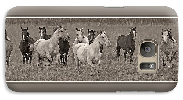 Galaxy Case featuring the photograph Escapees From A Lineup D8056 by Wes and Dotty Weber