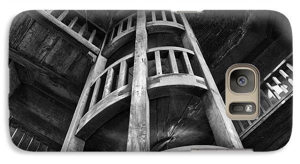 Galaxy Case featuring the photograph Escher's Hideaway by John  Bartosik