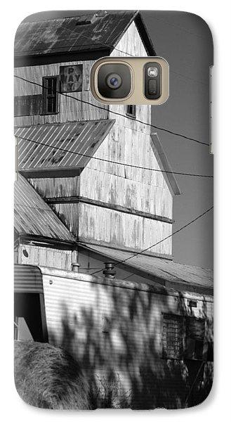 Galaxy Case featuring the photograph Eskridge Elevator by Rod Seel