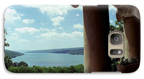 Galaxy Case featuring the photograph Esperanza Balcony by Tom Brickhouse