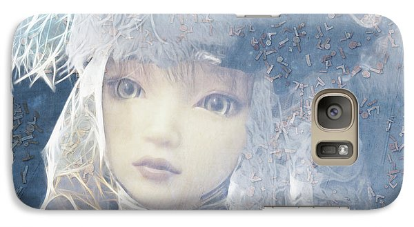 Galaxy Case featuring the digital art Esprilanza Dilla Nocetina by Barbara Orenya