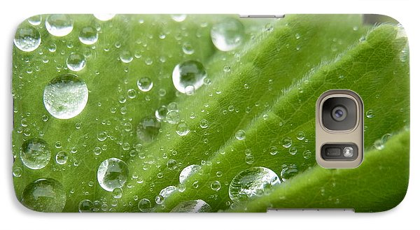 Galaxy Case featuring the photograph Essence Of Life by Agnieszka Ledwon