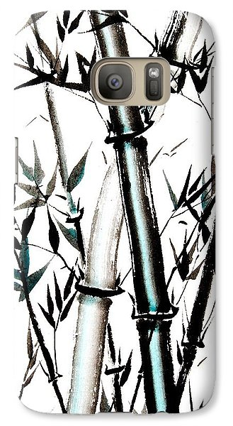 Galaxy Case featuring the painting Essence Of Strength by Bill Searle
