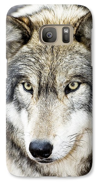 Galaxy Case featuring the photograph Essence Of Wolf by Gary Slawsky