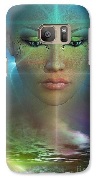 Galaxy Case featuring the digital art Essence by Shadowlea Is