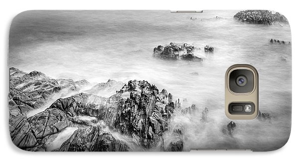 Galaxy Case featuring the photograph Estacas Beach Galicia Spain by Pablo Avanzini