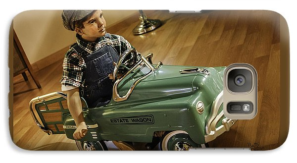 Galaxy Case featuring the photograph Estate Wagon Pedal Truck by Betty Denise