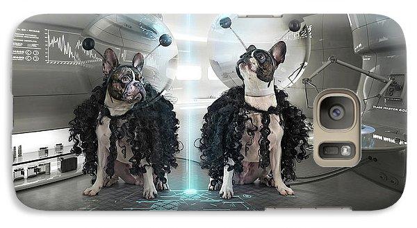 Astronaut Galaxy S7 Case - Et Dogs by Ddiarte