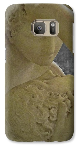 Eternal Love - Psyche Revived By Cupid's Kiss - Louvre - Paris Galaxy S7 Case
