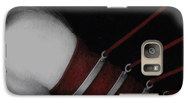 Galaxy Case featuring the painting Eternal Struggle by Pat Erickson