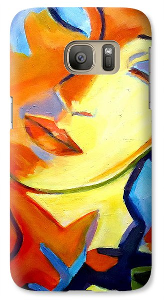 Galaxy Case featuring the painting Eternity by Helena Wierzbicki