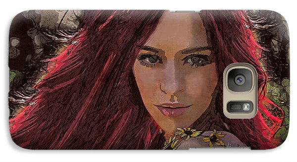 Galaxy Case featuring the digital art Ethere by Galen Valle