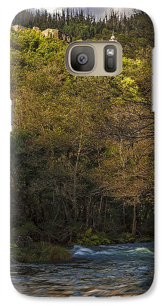 Galaxy Case featuring the photograph Eume River Galicia Spain by Pablo Avanzini
