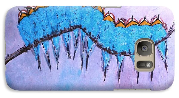 Galaxy Case featuring the painting European Bee Eaters by Donna Dixon