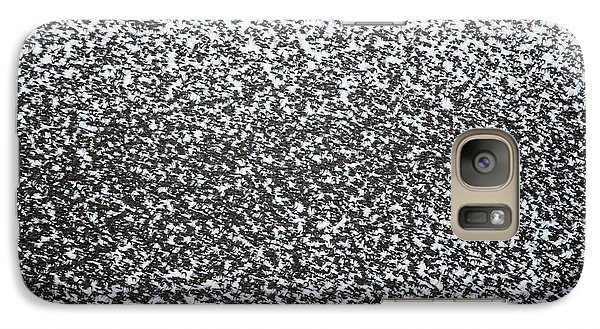 Starlings Galaxy S7 Case - European Starling Flock by Simon Booth