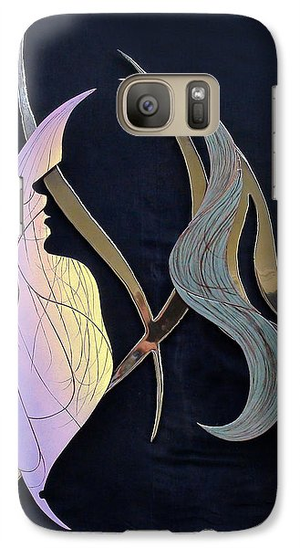 Galaxy Case featuring the sculpture Eve by Dan Redmon