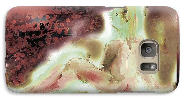 Galaxy Case featuring the digital art Eve by Gabrielle Schertz