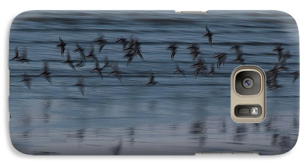 Galaxy S7 Case featuring the photograph Evening Abstract by Alex Lapidus